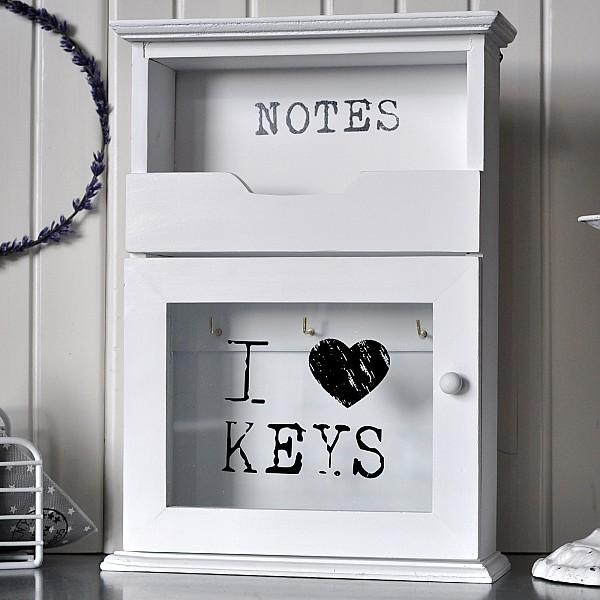 Nyckelskåp I LOVE KEYS