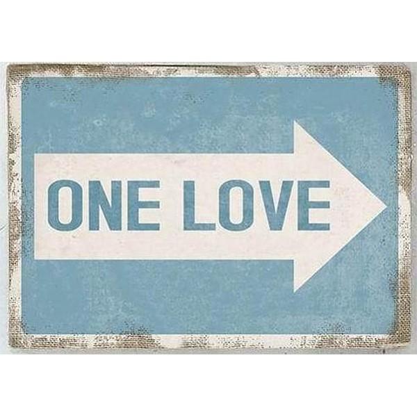 Canvastavla One Love