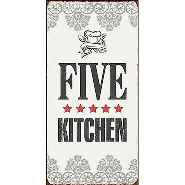 Magnet/Kylskåpsmagnet Five star kitchen
