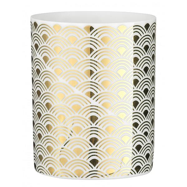 Ljuslykta / Ljuskopp Guld Design