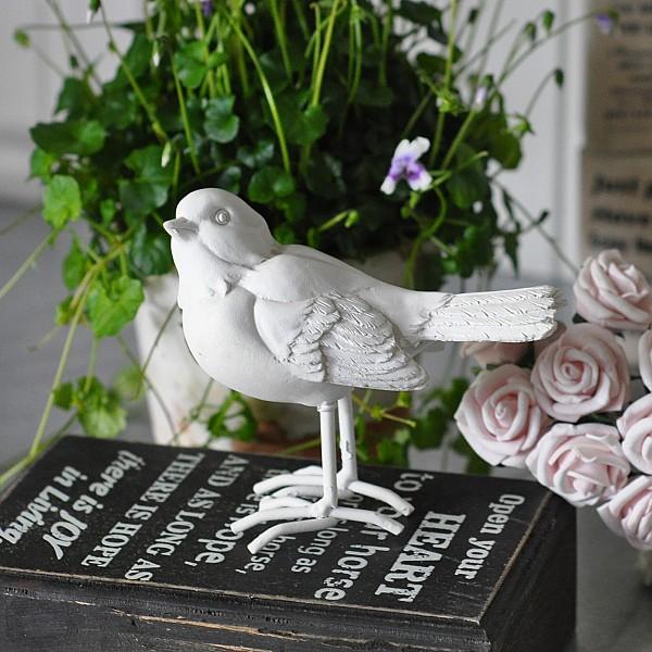 Fågel Birdie Vit - Sort 1