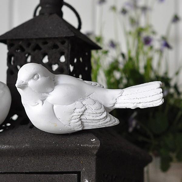 Fågel Birdie Magnet Vit - Sort 1
