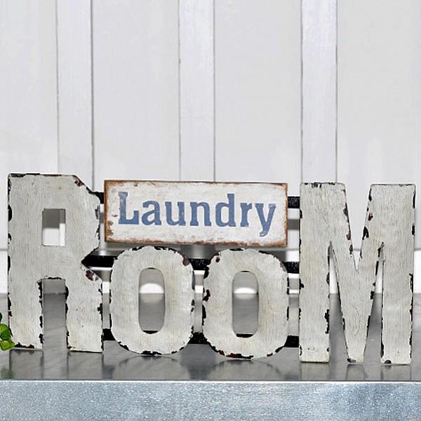 Plåtskylt Laundry Room