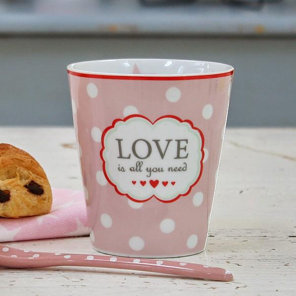 Happy Mug LOVE is all you need