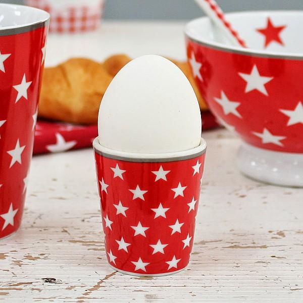 Äggkopp Star - Röd