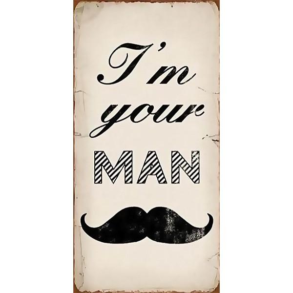 Magnet/Kylskåpsmagnet I'm your man
