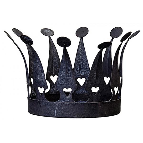 Ljushållare EVERYDAY Krona Mellan - Svart