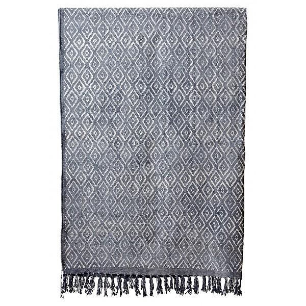 Matta MYS Grå/Vit - 200 x 300 cm