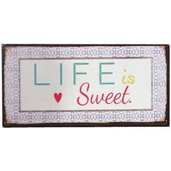 Magnet/Kylskåpsmagnet LIFE is Sweet