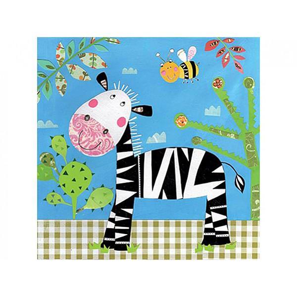Servetter glad Zebra
