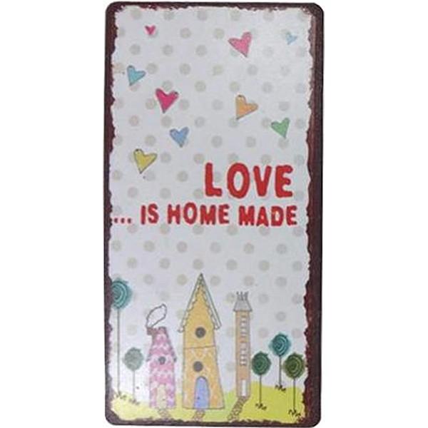 Magnet/Kylskåpsmagnet Love is home made