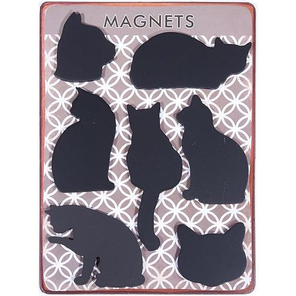 Magneter/Kylskåpsmagneter Katter