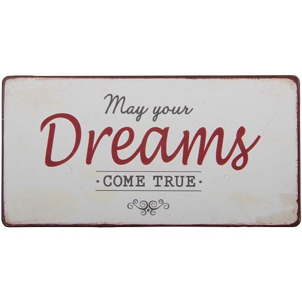 Magnet/Kylskåpsmagnet May your dreams come true