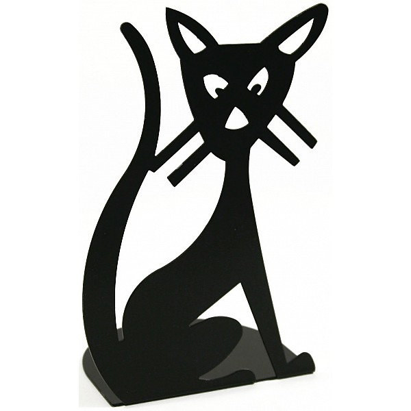 Bokstöd Katt - 2-pack