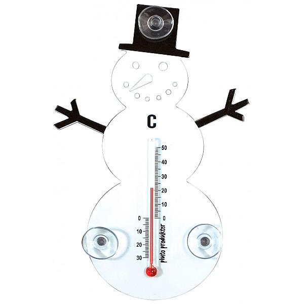 Termometer Snögubbe