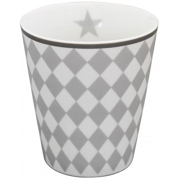 Happy Mug Harlekin - Grå