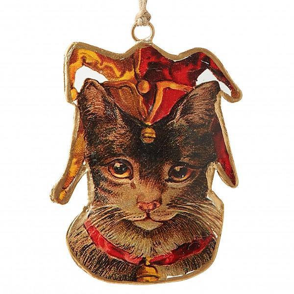 Katt med narrmössa BEATRIX