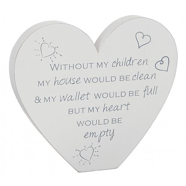 Hjärta Without my children