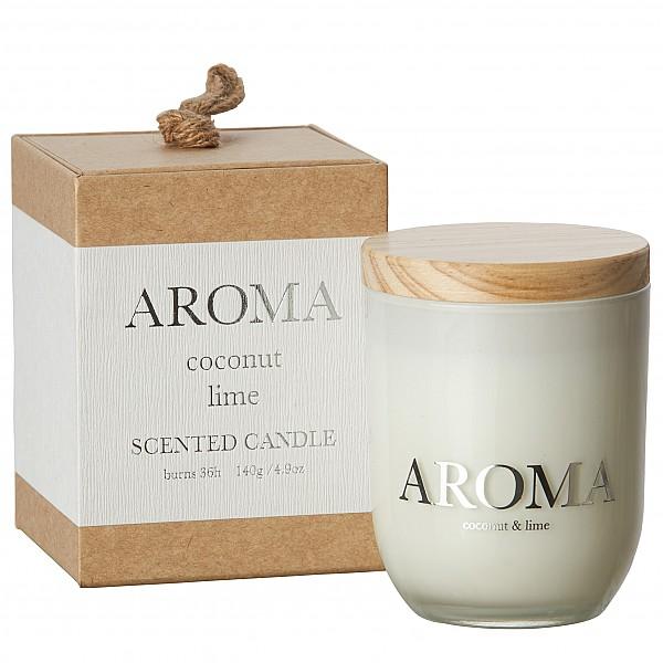 Doftljus AROMA Liten - Kokosnöt & Lime/Coconut & Lime