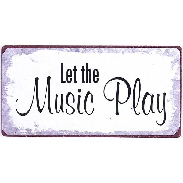 Magnet/Kylskåpsmagnet Let the Music Play