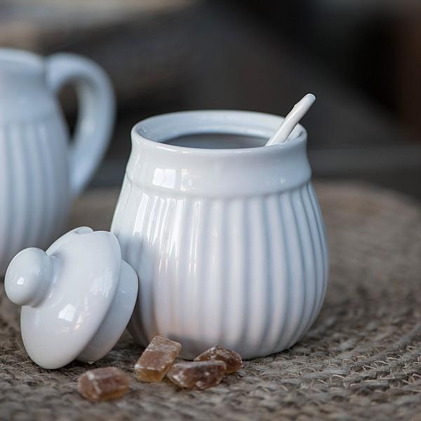 Sockerskål Mynte - Pure White - Vit