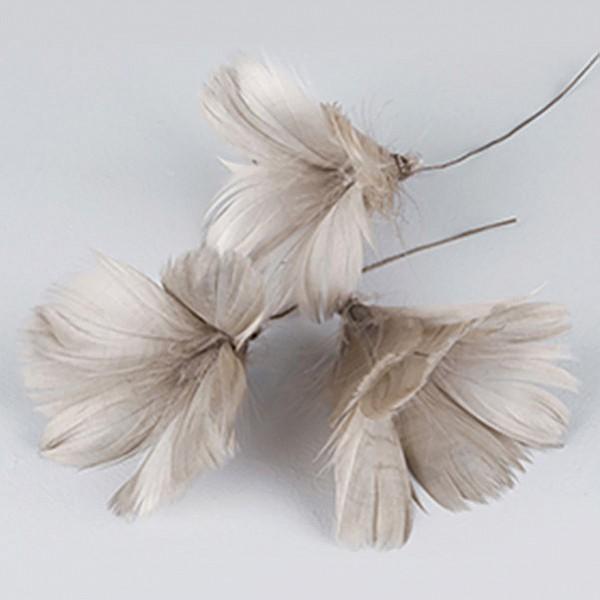 Påskfjädrar/Fjädrar Blom Mullvad - 12 st