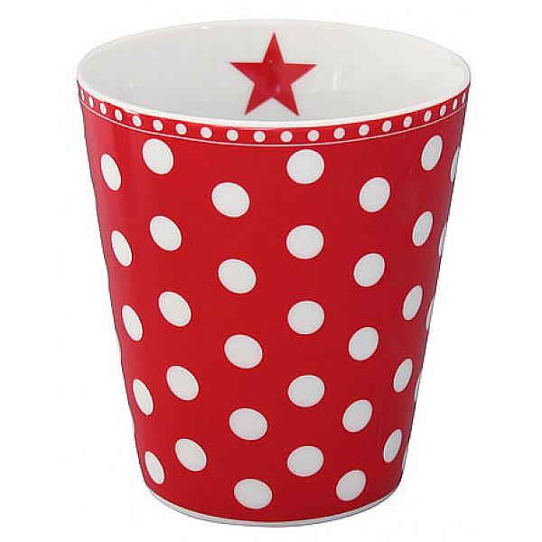 Happy Mug Dot - Röd