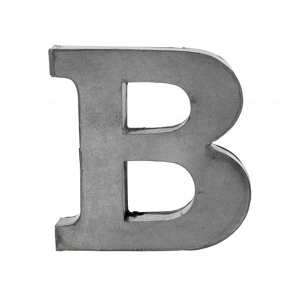 Zinkbokstav B