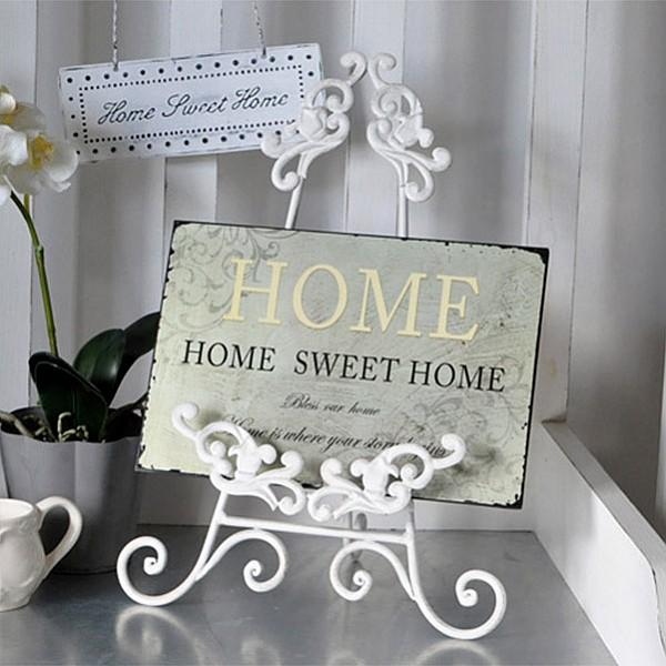 Plåtskylt Home - Home Sweet Home