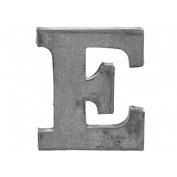 Zinkbokstav E