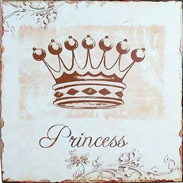 Plåtskylt Princess