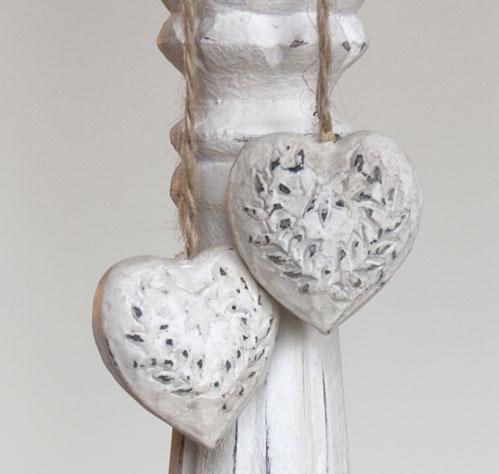 Hjärtan på snöre/knytband