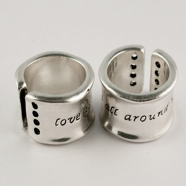 Ring Silver Love is all around you