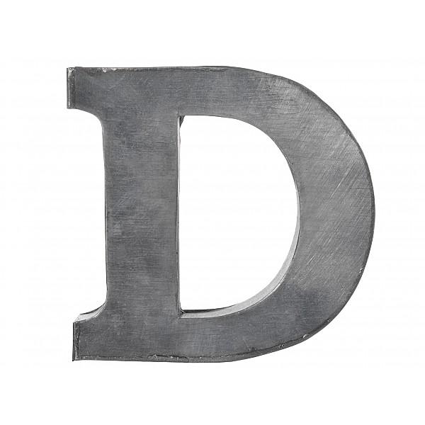 Zinkbokstav D