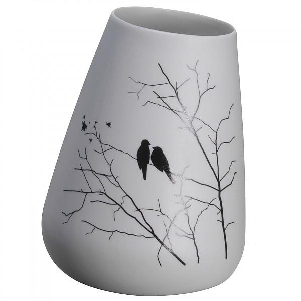 Lutande vas Fåglar - Höjd 11 cm