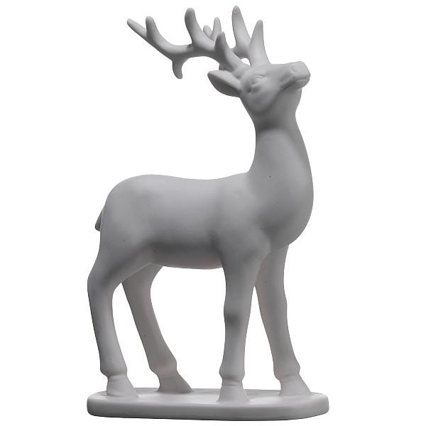 Hjort i porslin - Stor