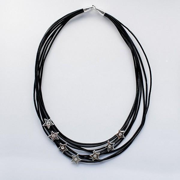 Halsband Stjärnor med strass