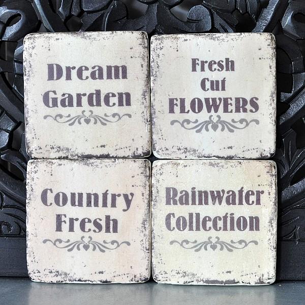 Glasunderlägg Dream Garden