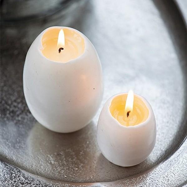 Äggljus - Gåsägg med äggula