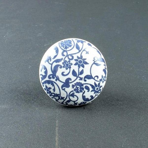 Knopp Blomster - Blå
