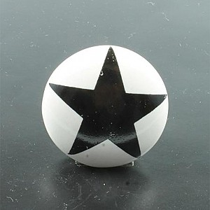Porcelain Knob Star