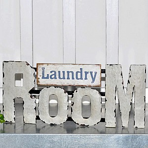 Sign Laundry Room
