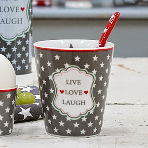 Happy Mug LIVE LOVE LAUGH