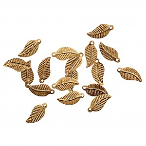 Metal Leaves 50 pcs
