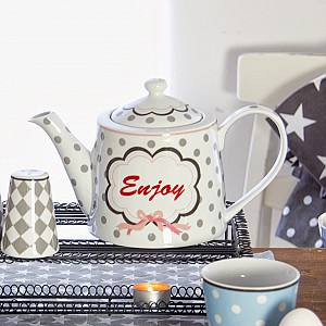 Happy Teapot Enjoy