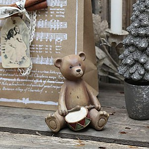 Teddy Bear with drum