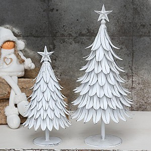 Christmas Tree Antique White
