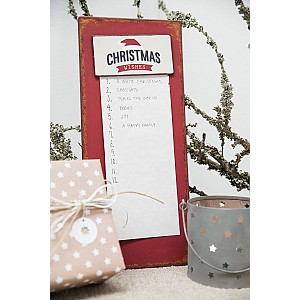 Metal Sign Christmas wishes