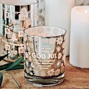 Candle Holder GOD JUL