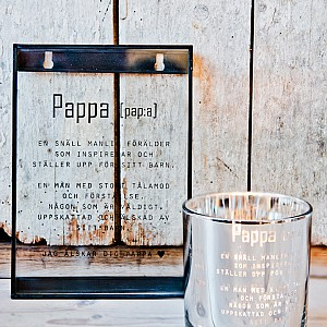 Glass Picture Pappa